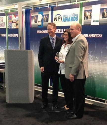 Service Excellence Award at IPC APEX 2016