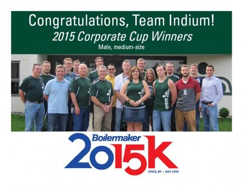 Congrats Team Indium - Boilermaker 2015
