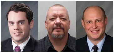 Left to Right: Jim McCoy, Jeff Rivet, and Leo Devine